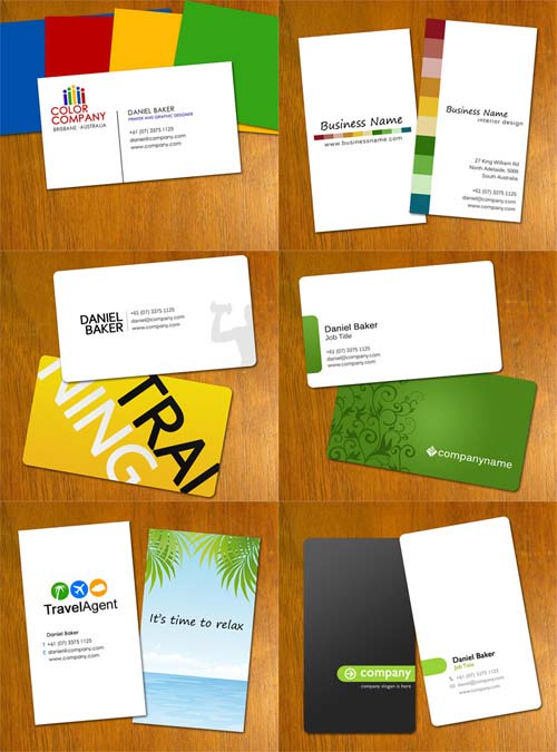 ejemplos de tarjetas personales